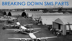 Breaking down parts in aviation safety management systems