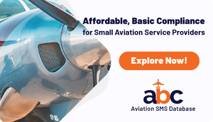 Affordable, Basic Compliance for Small Aviation Service Providers