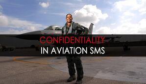 Confidentiality in aviation SMS