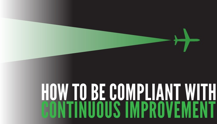 How to be compliant with continuous improvement of aviation SMS