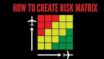 How to create a risk matrix in aviation SMS