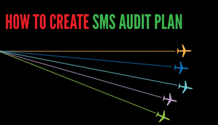 How to create aviation SMS audit plan