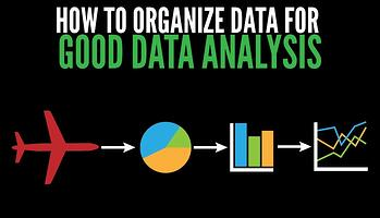 How to organize data for good data analysis in aviation SMS