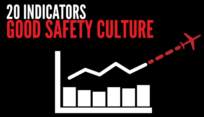 Indicators of good safety culture in aviation SMS