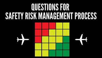 Questions for Safety Risk Management process in aviation SMS