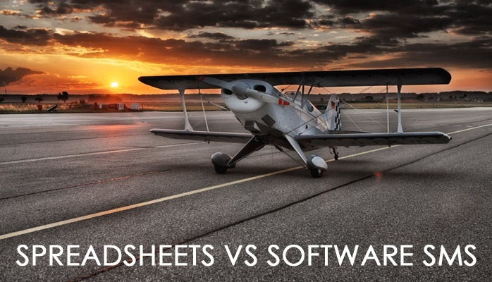 Spreadsheet SMS vs software SMS in aviation safety