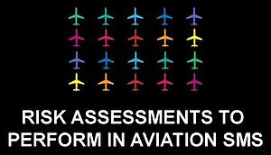 Types of risk assessments to perform in aviation SMS