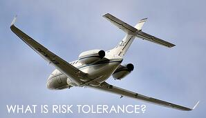 What is risk tolerance in aviation risk management