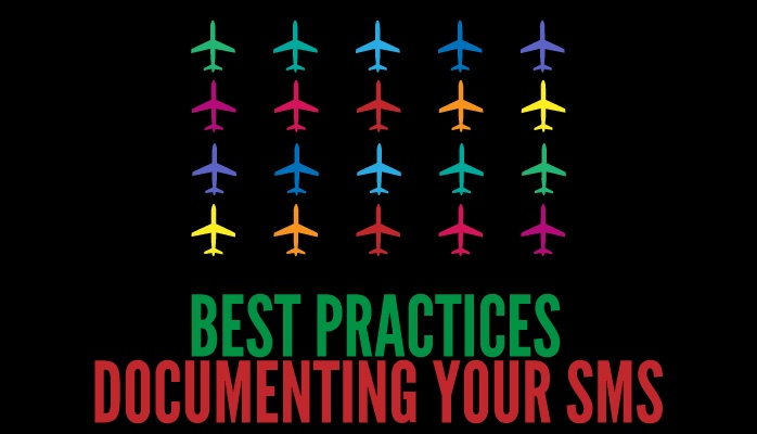 Best practices for documenting your aviation SMS