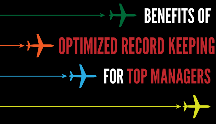How optimized record keeping benefits top managers