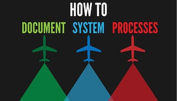 How to document system processes in aviation SMS