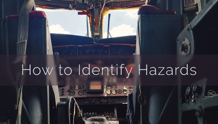 How to identify hazards in aviation SMS