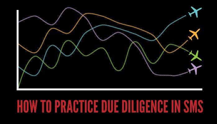 How to practice due diligence in aviation SMS