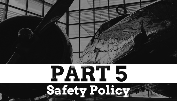 FAA Part 5 Safety Policy Compliance