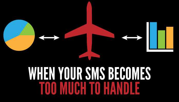 What to do when your SMS becomes too much to handle