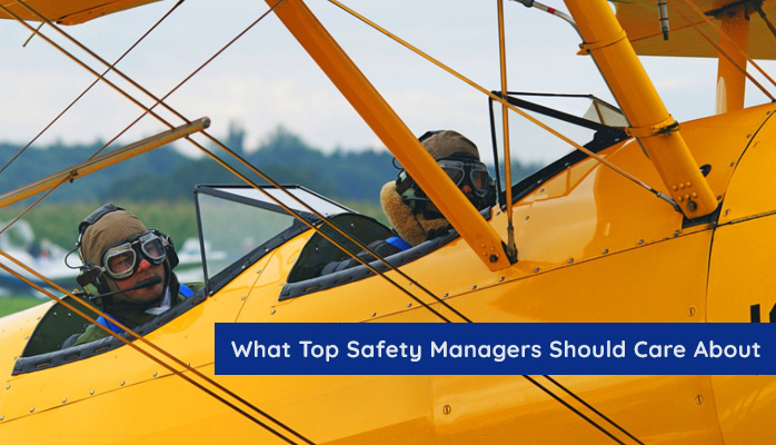 What top managers should care about in aviation SMS