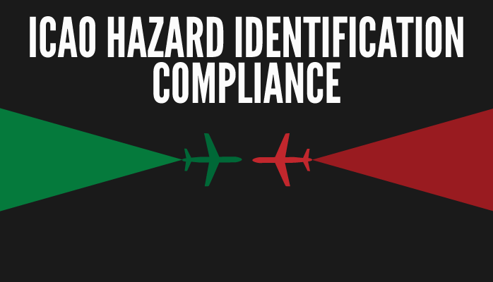 How to be compliant with ICAO hazard identification requirement