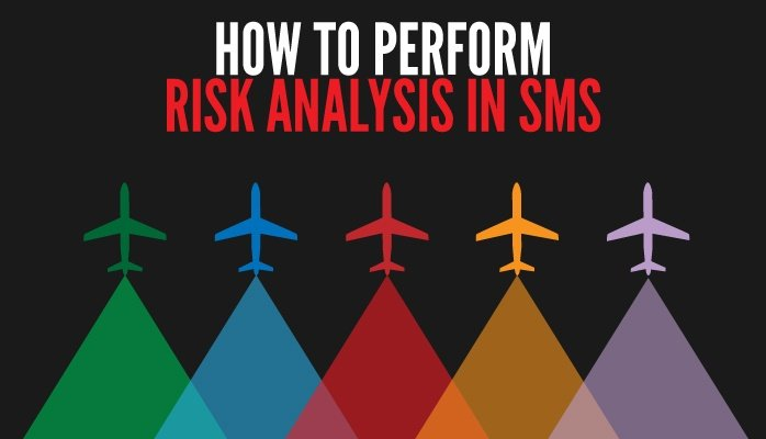 How to perform risk analysis in aviation SMS