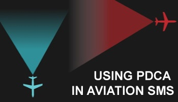 How to use Plan Do Check Act PDCA in aviation SMS