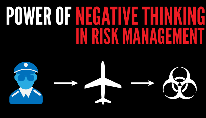 Power of negative thinking in aviation SMS
