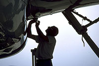 Aviation maintenance organizations commonly hire many contractors and interface with vendors