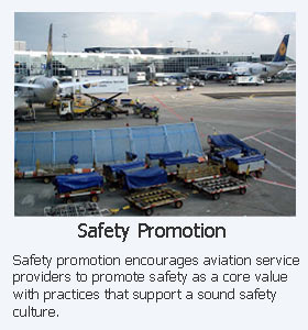 KPI statistics can be effectively communicated in safety promotion activities