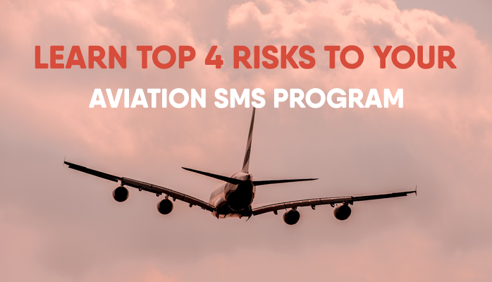 What are the risks to aviation safety management system implementations at airlines and airports
