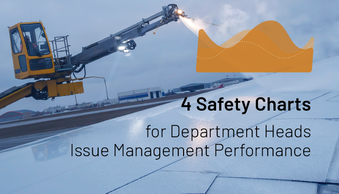4 Safety Charts for Department Heads Issue Management Performance