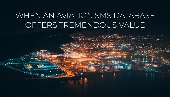 Benefits Of Aviation SMSDatabase