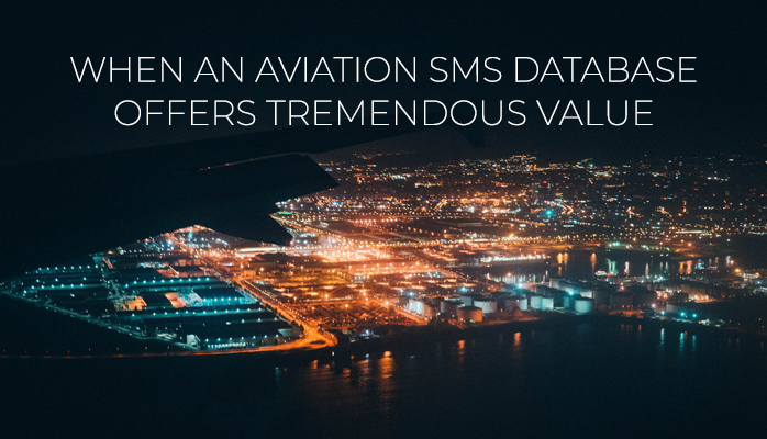 Benefits Of Aviation SMS Database