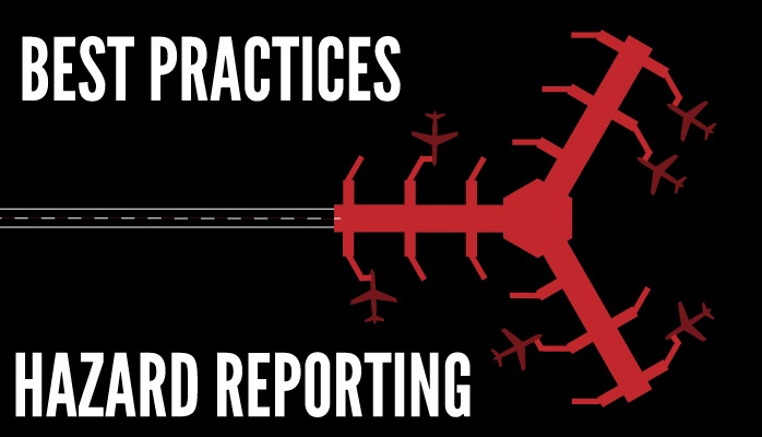 Best practices for hazard reporting in SMS