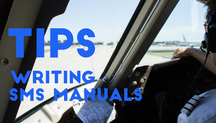 Tips for Writing SMS Manuals With Aviation Safety Database Solutions