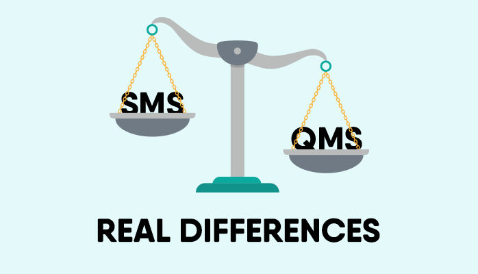 What are the differences between Aviation SMS programs and Integrated QMS programs