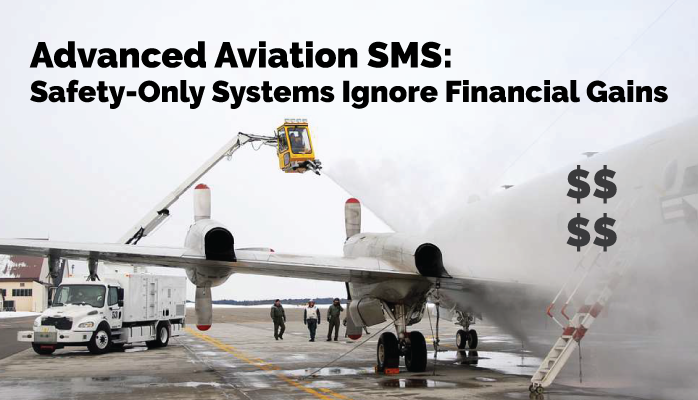 Advanced Aviation SMS: Financial Opportunities Found in Safety Policy