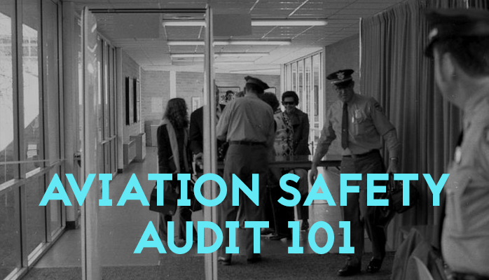Aviation safety audits are common to provide assurance of compliant aviation safety management systems