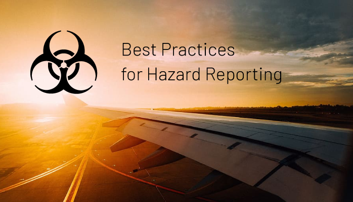 Best Practices for Hazard Reporting in Aviation SMS