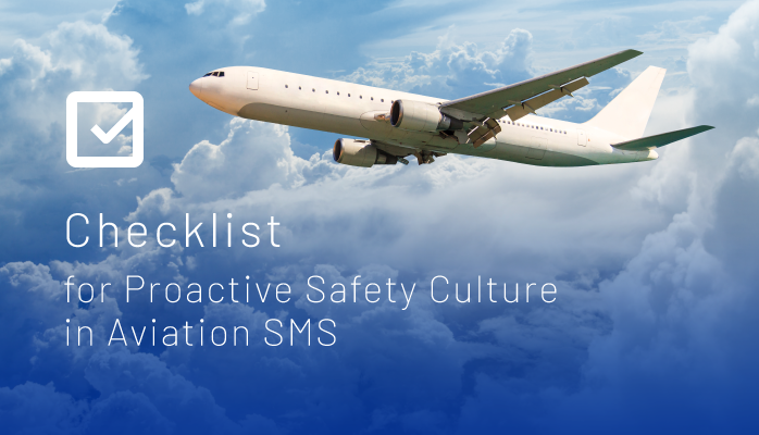 Checklist for Proactive Safety Culture in Aviation SMS