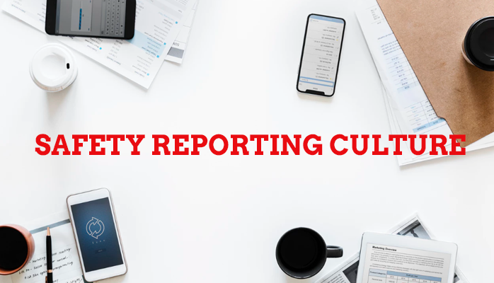 Create a reporting culture in aviation safety programs