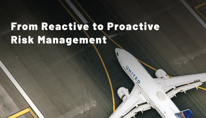 From Reactive to Proactive Risk Management in Aviation SMS