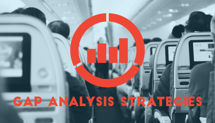 Gap analysis gets helps you plan how to get to where you want to be