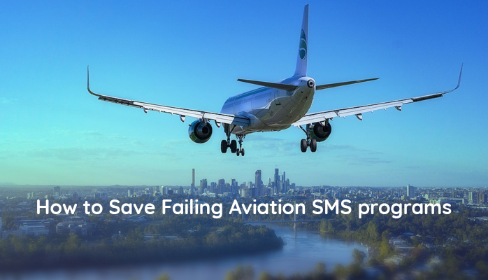 How to Save Failing Aviation SMS Programs by involving department heads in safety and quality department issues