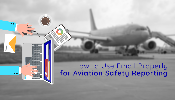 Reporting Aviation Safety Hazards by email in aviation hazard reporting systems