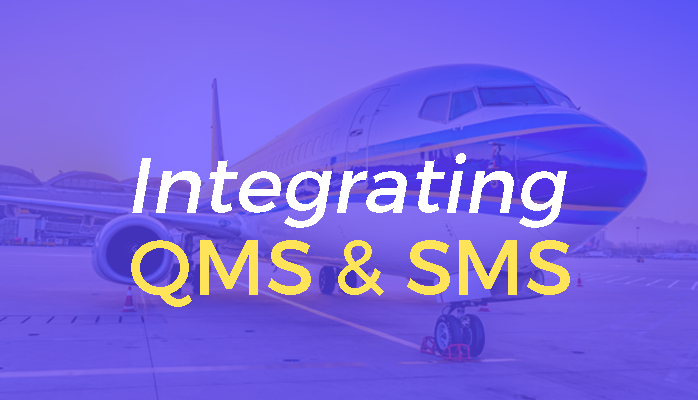 Integrate SMS and QMS Systems at airlines and airports