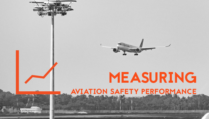 Measuring Aviation Safety Performance at airlines and airports for aviation safety management systems