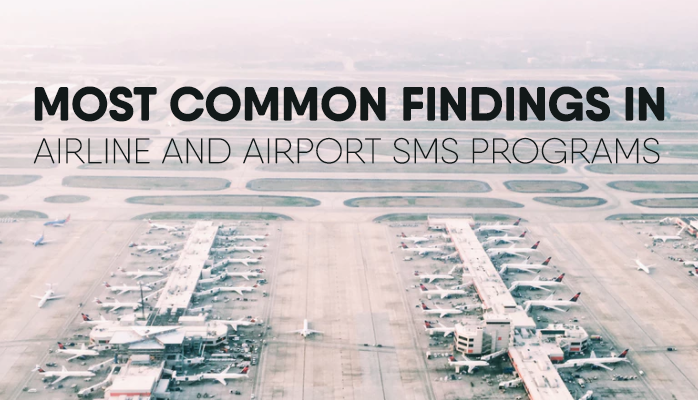 Common aviation risk management findings at airlines airports