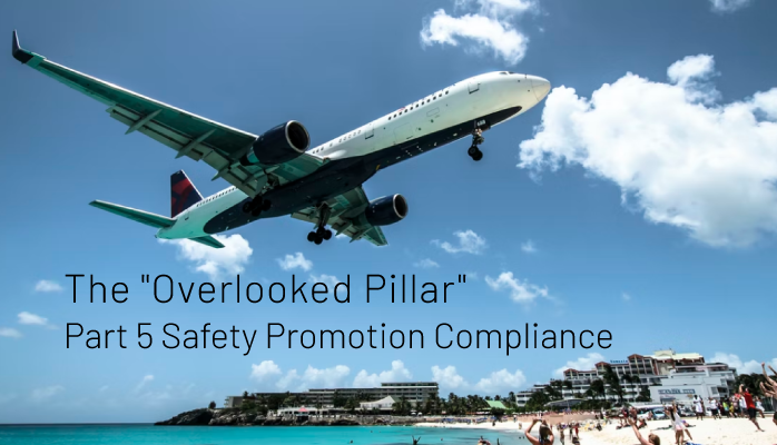 "Part 5 Compliance: Safety Promotion (the ""Overlooked Pillar"")"