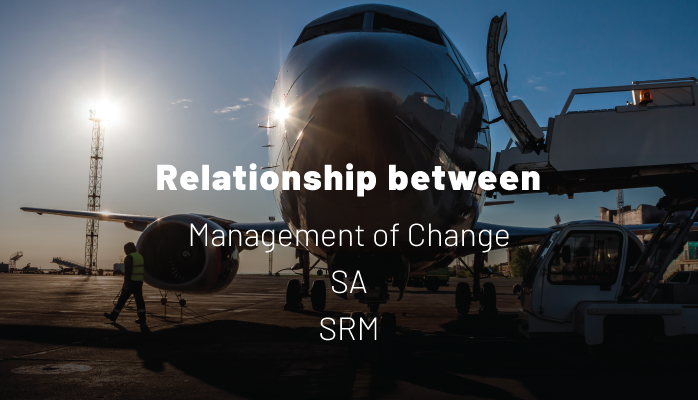 Relationship between Management of Change, SA Process, and SRM Process