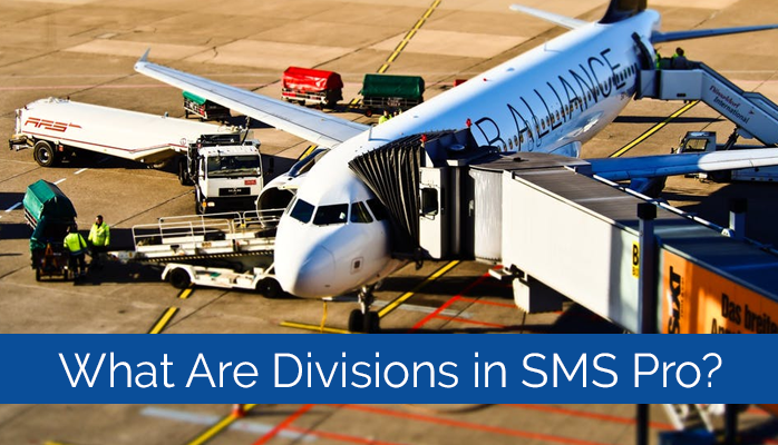 Aviation safety database programs can have one or more divisions. See Division in an organization chart for SMS-pro