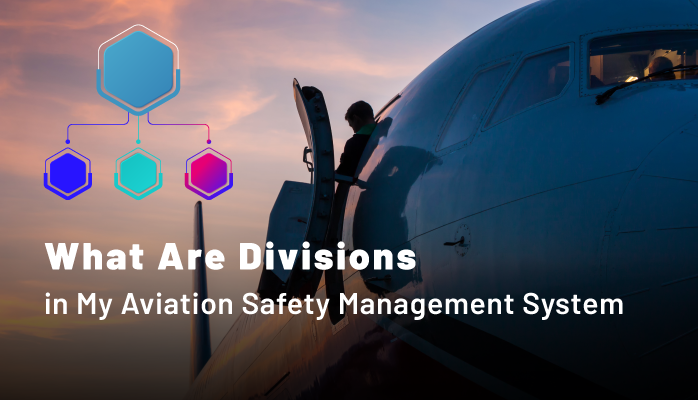 What Are Divisions in My Aviation Safety Management System