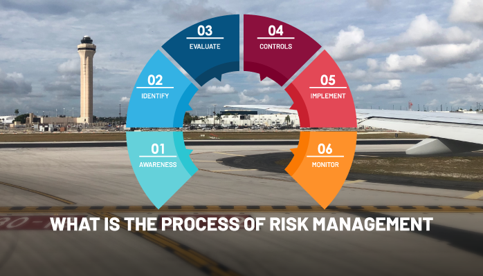 What is the Process of Risk Management in Aviation SMS